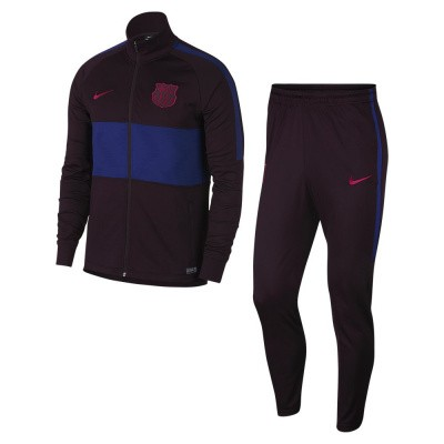 Foto van FC Barcelona Dri-FIT Strike Trainingspak Burgundy