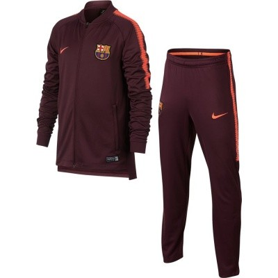 Foto van FC Barcelona Dri-FIT Squad Trainingspak Kids Night Maroon