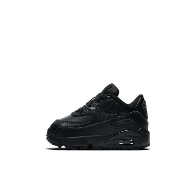 Foto van Nike Air Max 90 Leather Infants Black