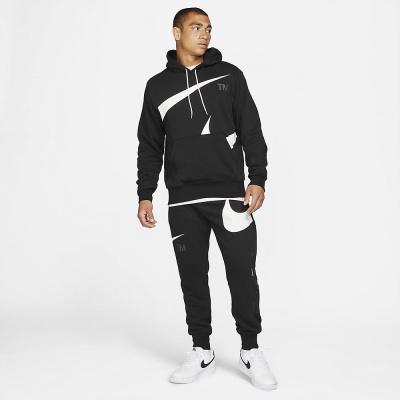 Foto van Nike Sportswear Swoosh Hoody Set Black