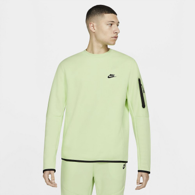 Foto van Nike Sportswear Tech Fleece Sweater Light Liquid Lime