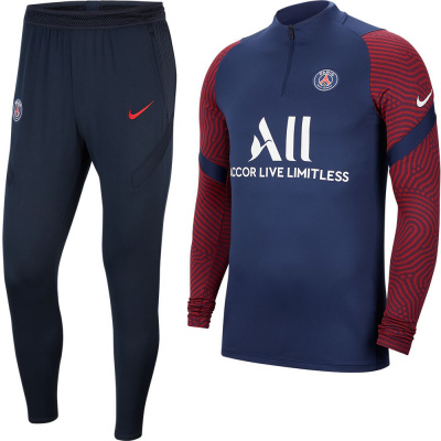 Foto van Paris Saint-Germain Strike Set Midnight Navy