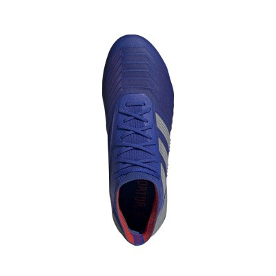 Foto van Adidas Predator 19.1 FG Blauw