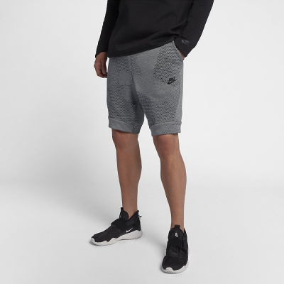 Foto van Nike Sportswear Tech Fleece Short GX 1.0 Carbon Heather