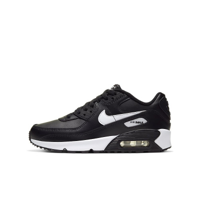 Foto van Nike Air Max 90 Kids Leather Black White