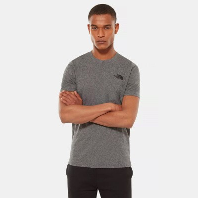 Foto van The North Face Simple Dome T-Shirt Medium Grey Heather