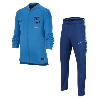 Foto van FC Barcelona Dri-FIT Squad Trainingspak Kids Blue