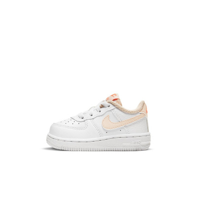 Foto van Nike Force 1 Kids White Crimson Tint