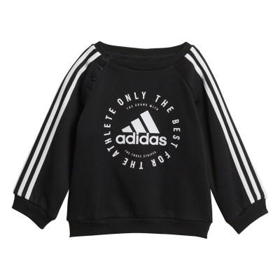 Foto van Adidas 3-Stripes Joggingpak Peuters Zwart