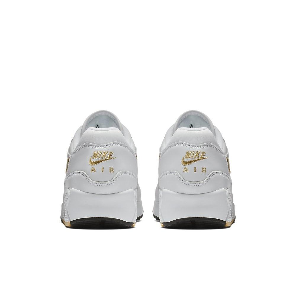Afbeelding van Nike Air Max 90/1 Wit-Goud