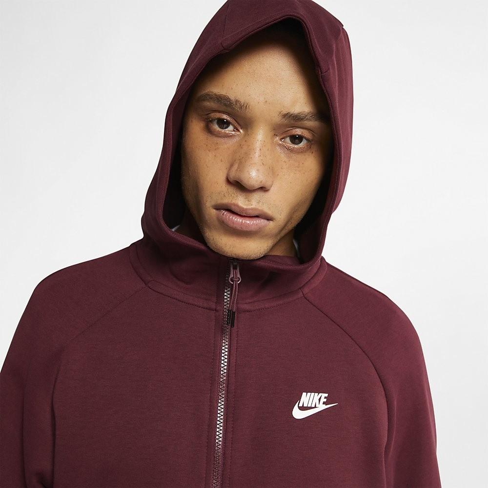Afbeelding van Nike Sportswear Tech Fleece Maroon