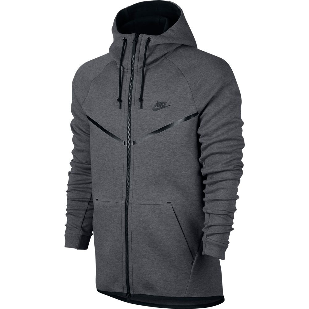 Afbeelding van Nike Tech Fleece Windrunner Hoodie Carbon Heather