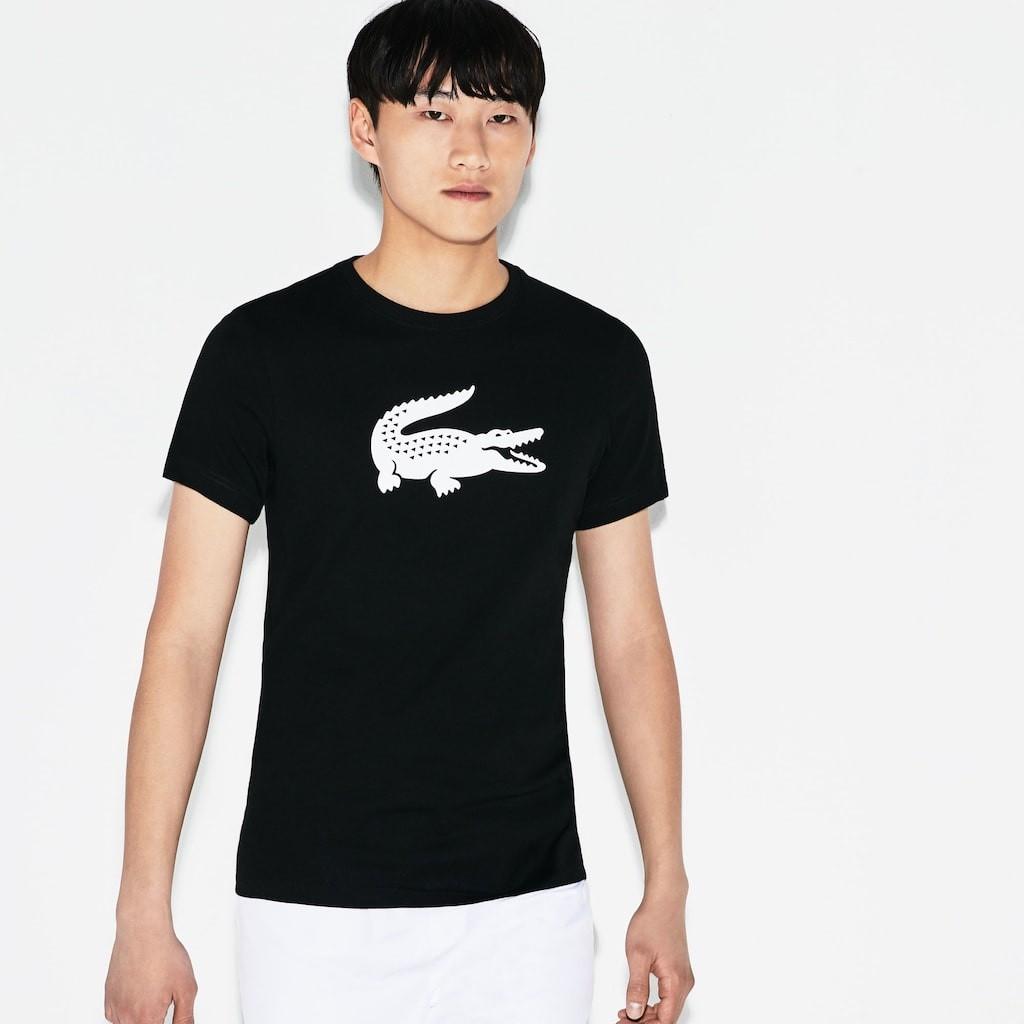 Afbeelding van Lacoste T-Shirt Zwart