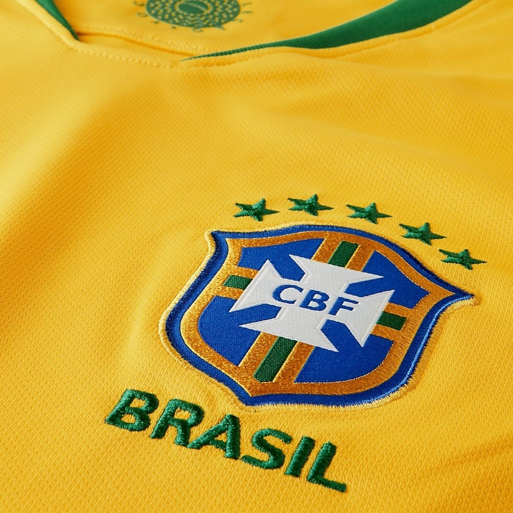 Afbeelding van 2018 Brasil CBF Stadium Home Kids