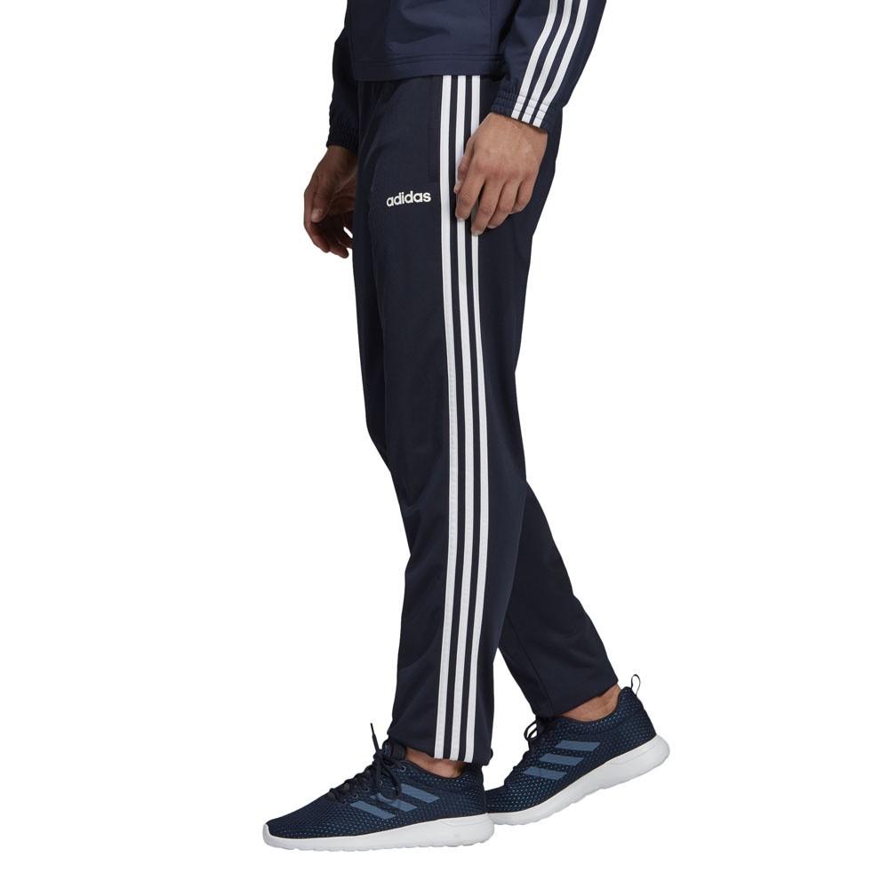 Afbeelding van Adidas Essentials 3 Stripes Trainingspak Blauw