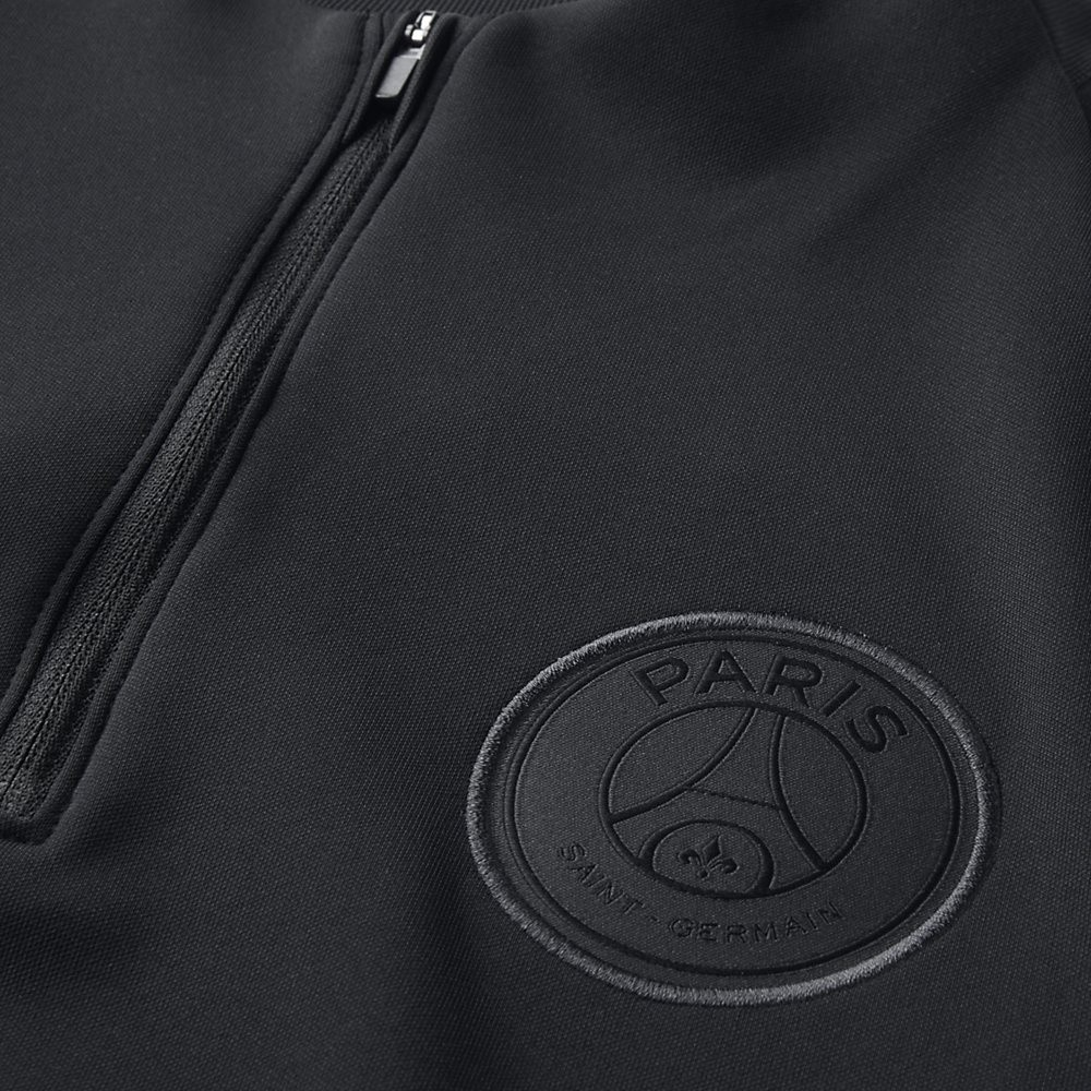 Afbeelding van Paris Saint-Germain Dri-FIT Squad Drill Set Zwart