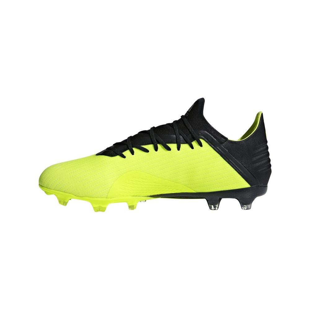 Afbeelding van Adidas X 18.2 FG Geel-Zwart