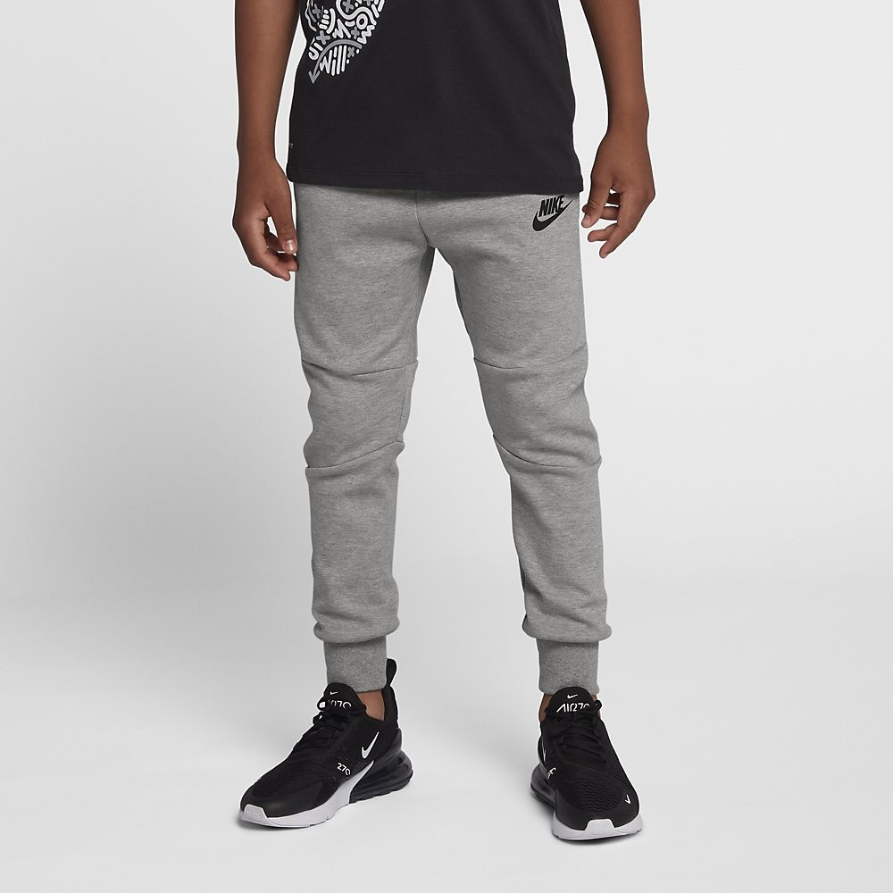 Afbeelding van Nike Sportswear Tech Fleece Pant Dark Grey Heather Kids