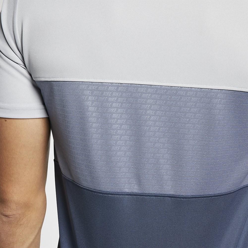 Afbeelding van Nike Dri-FIT Academy GX Shirt Wolf Grey - Armory Blue