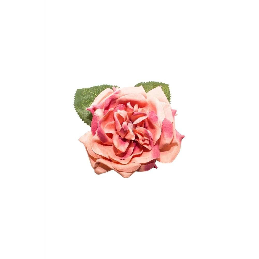 Haar clip Garden rose dusty pink