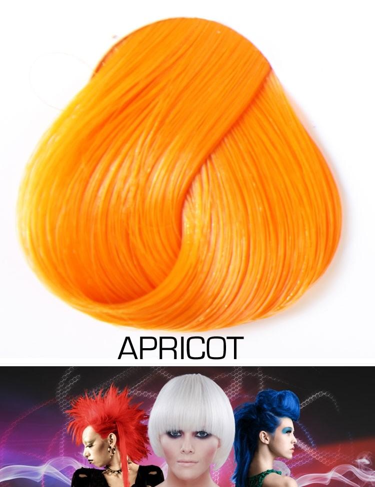 Semi Permanente Haarverf Apricot