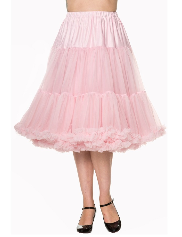 bc3fd4b64f2060 Petticoat Lifeforms lang met extra volume Licht Roze - Banned ...