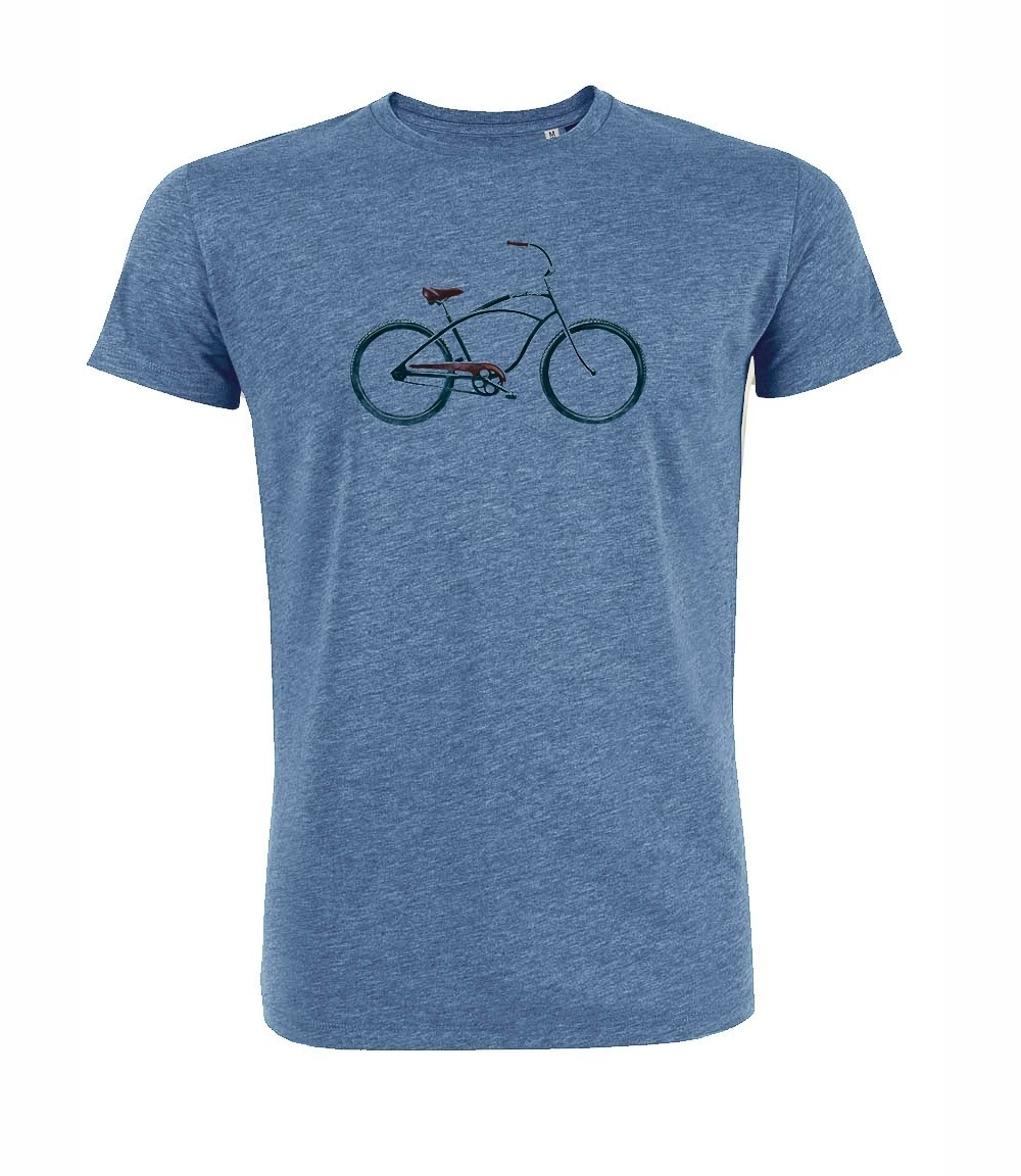 T-shirt Beach Cruiser Heather Blauw