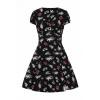 Afbeelding van Hell Bunny | Mini jurk Star Catcher zwart