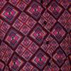 Afbeelding van Chenaski | overhemd seventies, Rhombus zwart multicolour