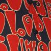 Afbeelding van Chenaski | Navy rood seventies overhemd Moloko