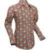 Afbeelding van Overhemd Seventies Flowergrid, pink