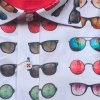 Afbeelding van Claudio Lugli, overhemd korte mouw Sunglasses print