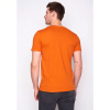Afbeelding van Green Bomb | bio T-shirt leave the road, heather orange