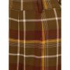Afbeelding van Collectif   Broek Baylee Mosshilll, bruine tartan met hoge taille