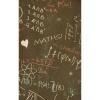 Afbeelding van Overhemd korte mouw Maths geek formulas chalkboard