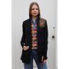 Afbeelding van ATO Berlin | Polo Jette, jacquard patroon, rood multikleur