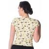 Afbeelding van Top Palm shade omslagmodel met v-hals