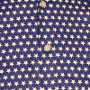 Afbeelding van Chenaski | Blauw wit seventies overhemd Stars