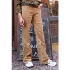 Afbeelding van ATO Berlin | Ribcord broek Newton, met uitlopende pijp, beige