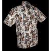 Afbeelding van Overhemd korte mouw Dance of the Dead creme