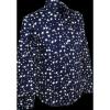 Afbeelding van Overhemd Retro, stars navy blauw