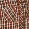 Afbeelding van Chenaski, cowboy overhemd checked brown