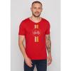 Afbeelding van Green Bomb | T-shirt Bike Highway, bio katoen Tango red