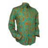 Afbeelding van Chenaski | Oranje blauw seventies overhemd Moloko