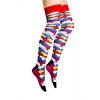 Afbeelding van Flirt | Overknee sokken met gekleurde schubben