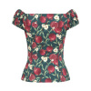 Afbeelding van Collectif,top Dolores, Pomegranate, teal