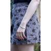 Afbeelding van Run & Fly | grijze ribcord rok met luiaard print