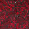Afbeelding van Chenaski   Cowboy overhemd zwart rode Paisley Ornamentical