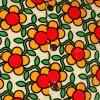 Afbeelding van Chenaski | Overhemd korte mouw, Flowergrid, creme