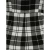 Afbeelding van Collectif | High-waisted broek Karen Monochrome met bretels